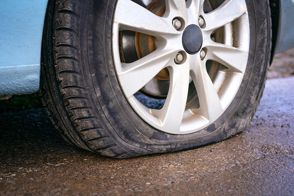 How To Prevent Flat Tires